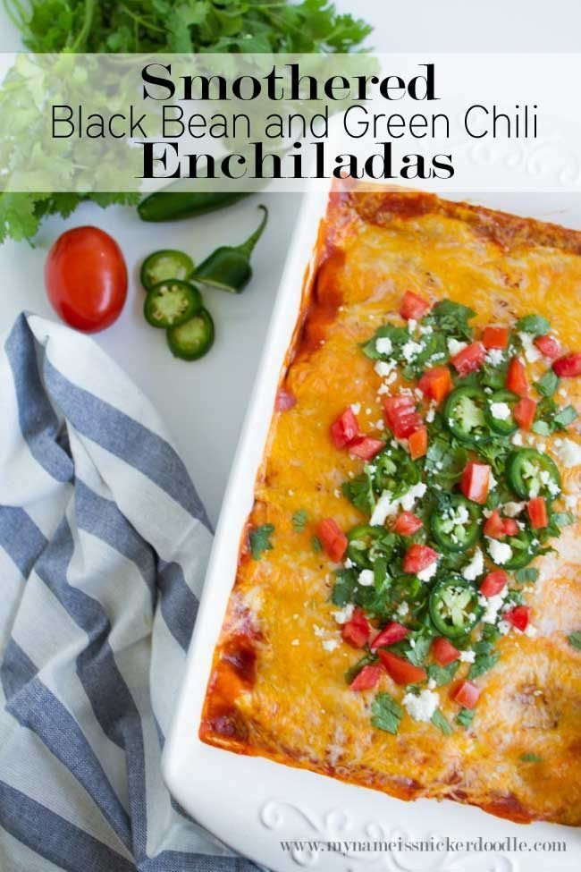 Smothered-Black-Bean-And-Green-Chili-Enchiladas-Title