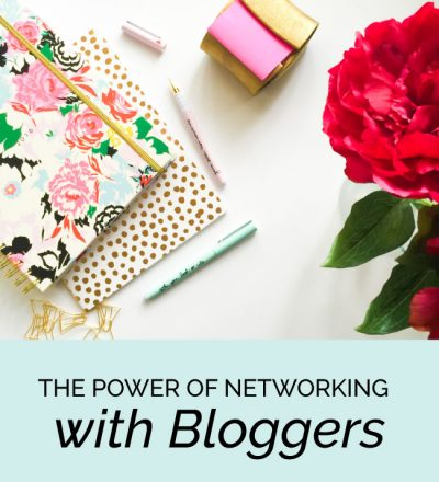 The Power of Networking with Bloggers from www.thirtyhandmadedays.com