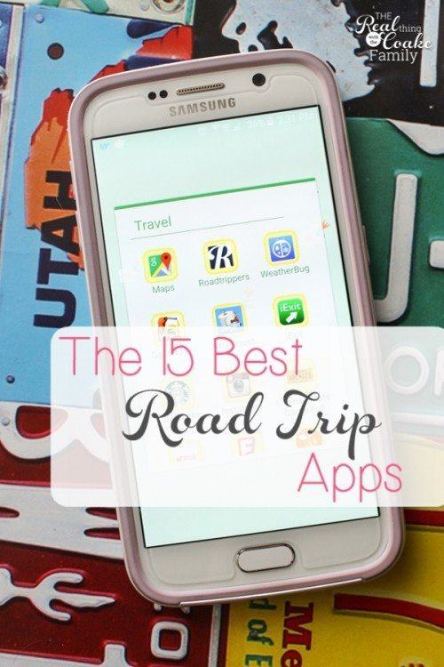 The 15 best road trip apps