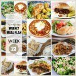 Weekly Meal Planner #23