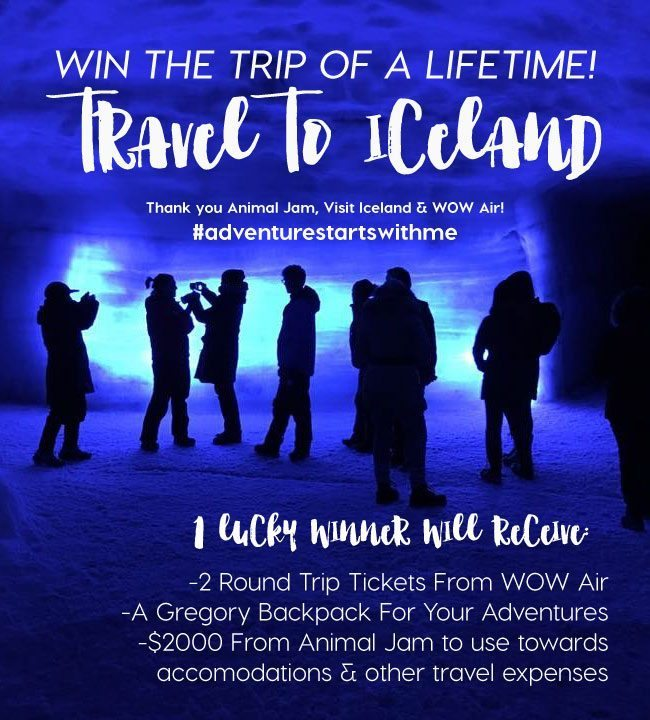 Win the trip of a lifetime - travel to Iceland