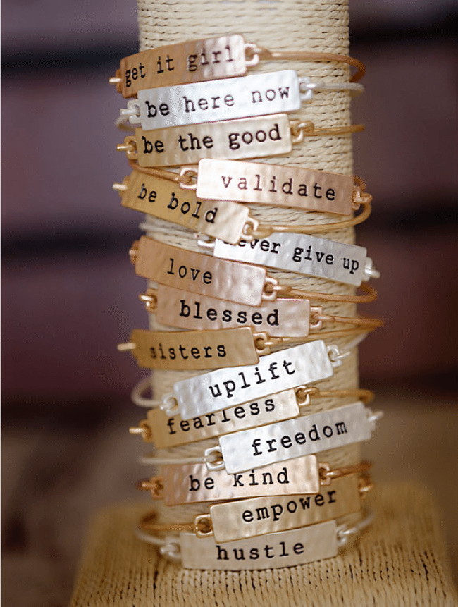 Tribe bracelets from Cents of Style