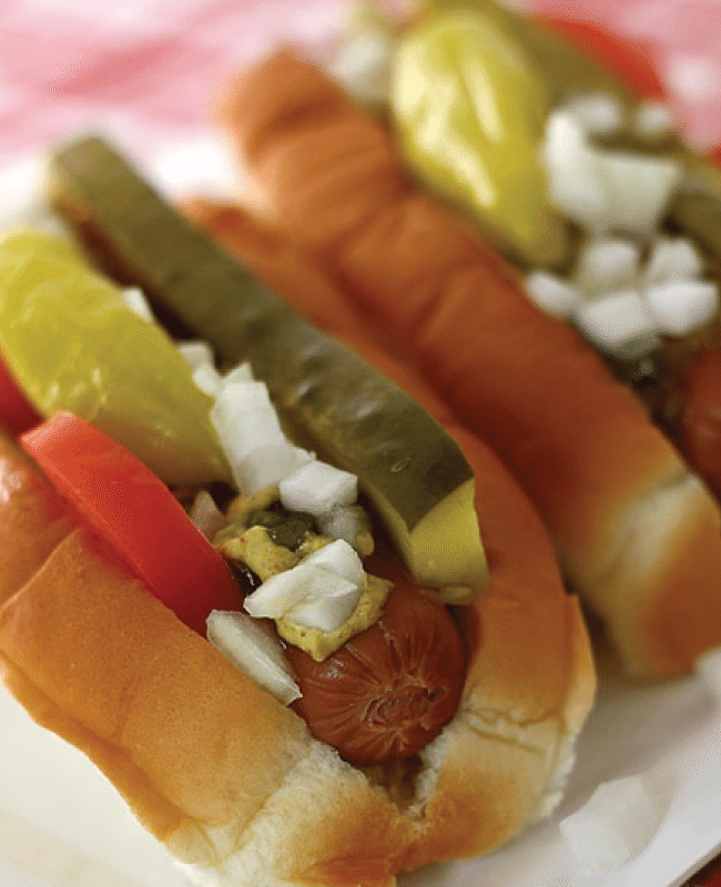 Make your own Chicago Dogs