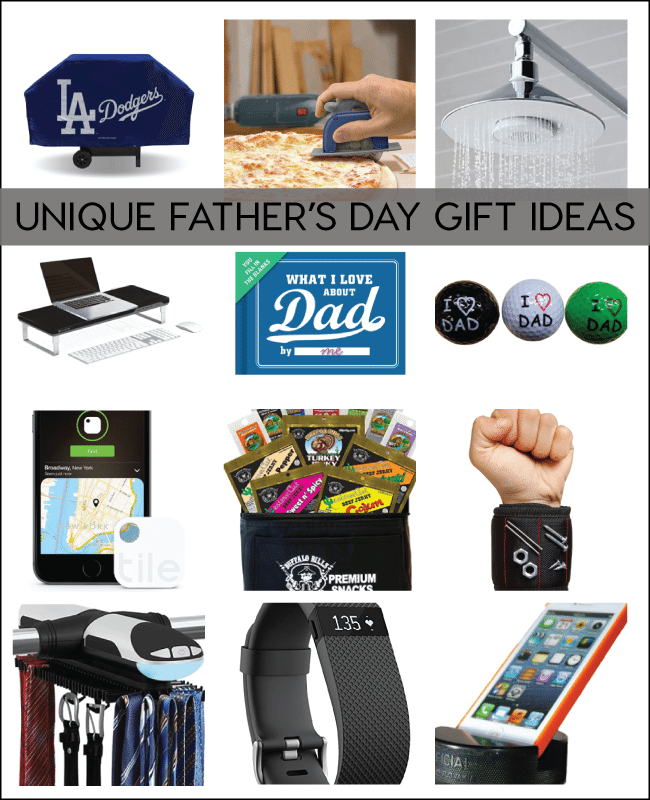 Unique Father's Day Gift Ideas compiled by www.thirtyhandmadedays.com