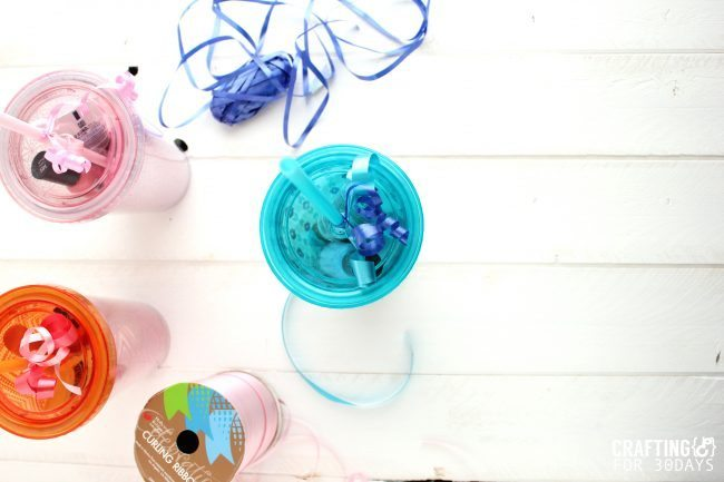 Simple Water Tumbler Gift Idea - perfect for Mother's Day or Teacher Appreciation! via 30daysblog