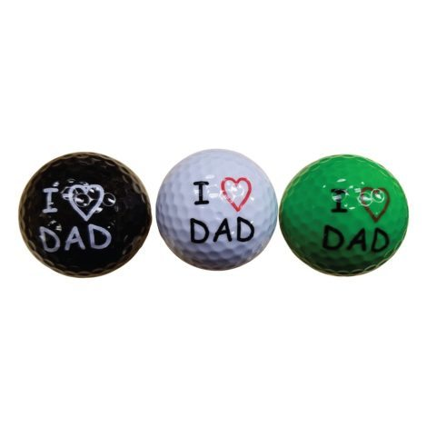 Unique Father's Day Gift Ideas - Dad Golf Balls