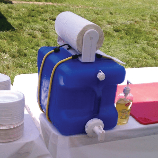 Make your own hand washing station