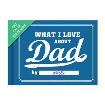 Unique Father's Day Gift Ideas - Dad Fill in Book