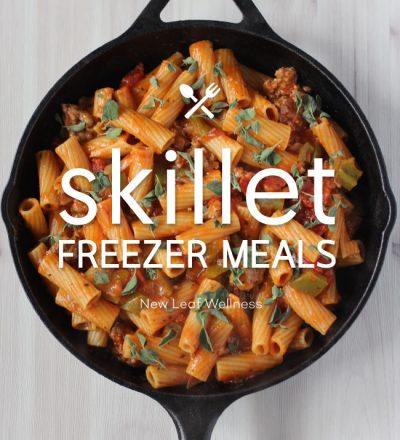 Skillet Freezer Meals