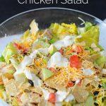 Delicious Santa Fe Chicken Salad from www.thirtyhandmadedays.com