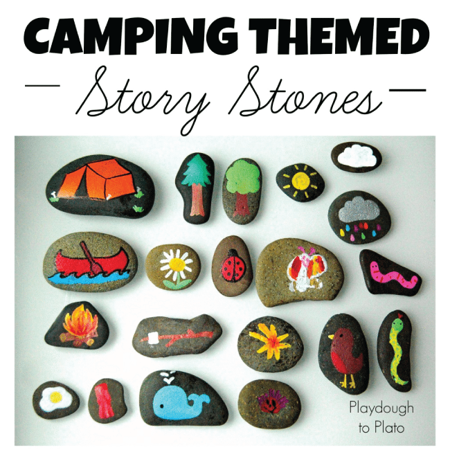 Story Stones from Playdough to Plato