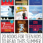20 Books for Teen Boys to Read This Summer