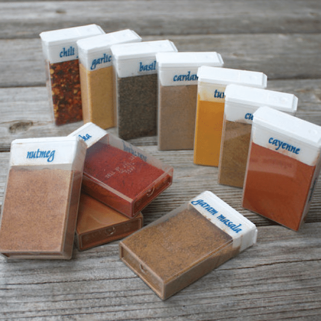 Tic Tac Spices from Seattle Sundries