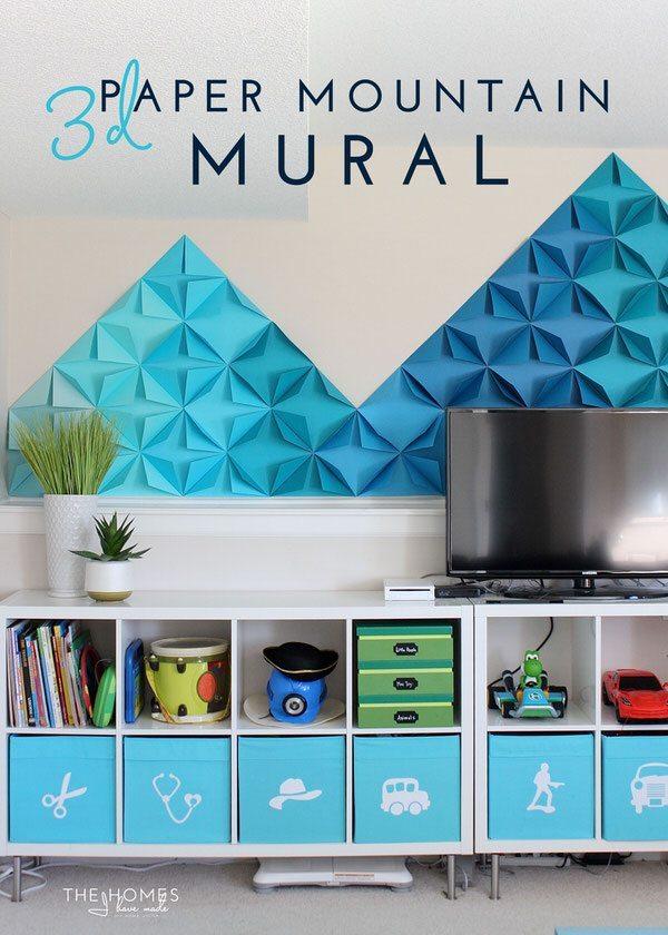 3d Paper Mount Mural-02