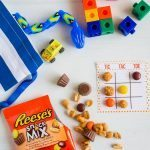 Back to School Tic Tac Toe with Reese's Snack Mix