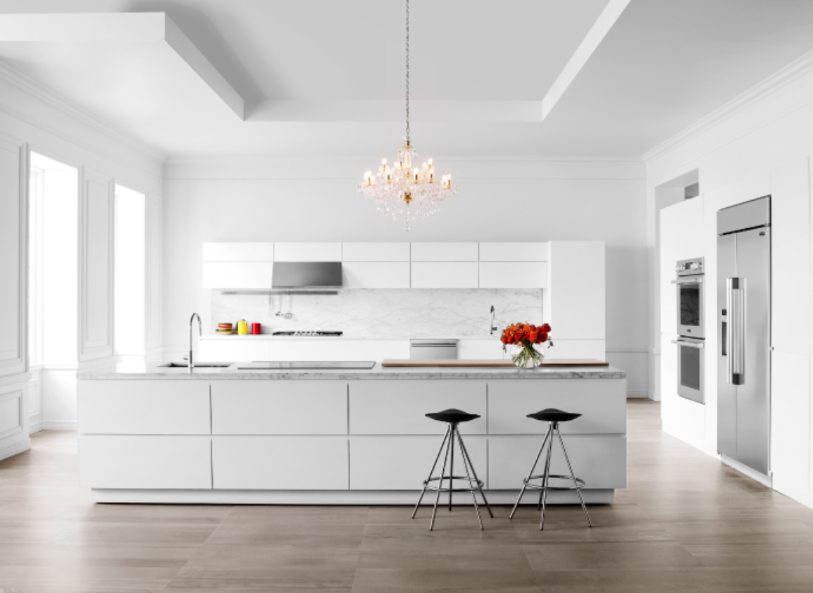 How to design a kitchen around appliances with the for Signature kitchen suite