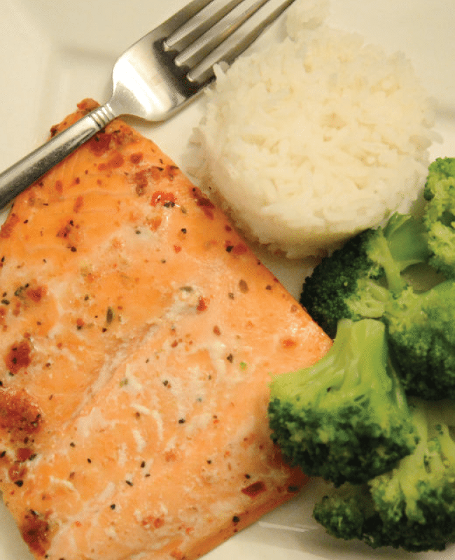 Baked Salmon from the Idea Room