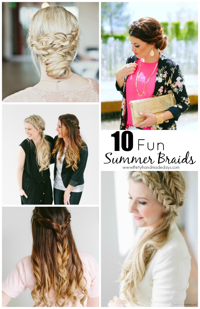 fun summer braids