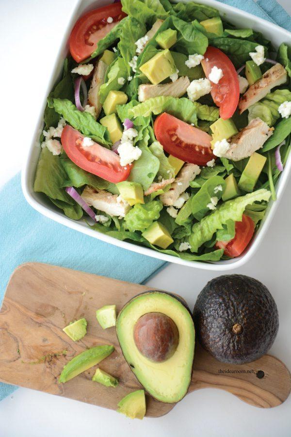 Chopped Chicken Avocado Salad from the Idea Room