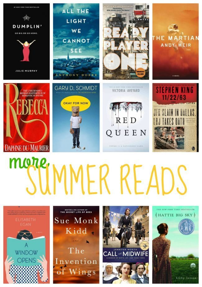 12 Books To Add to Your Summer Reading List
