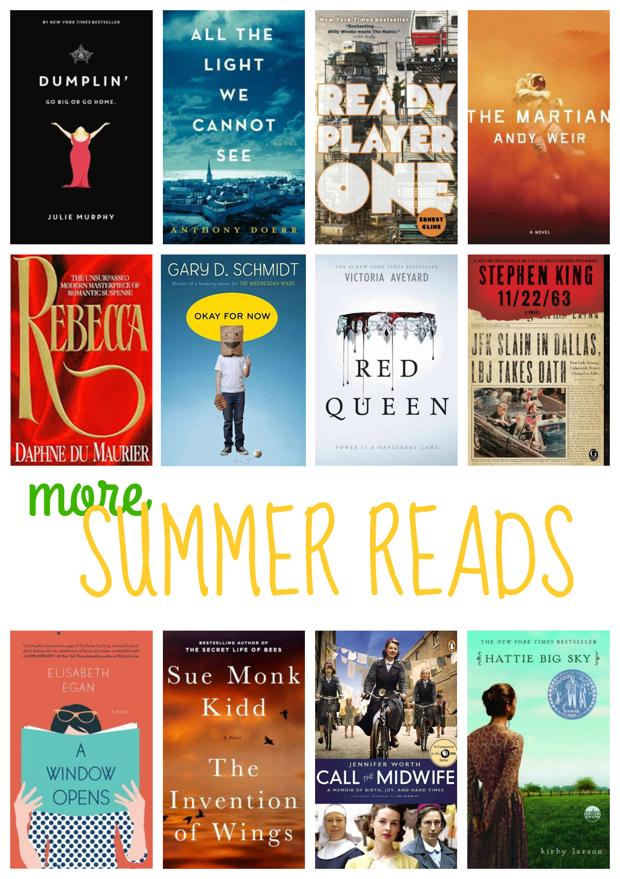 12 Books To Add To Your Summer Reading List Thirty