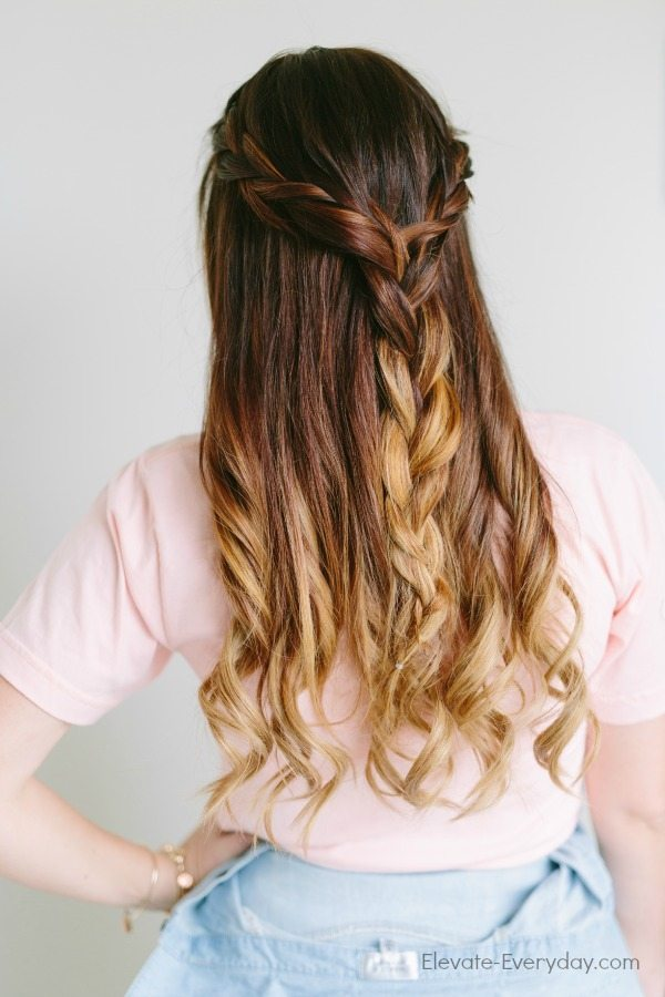 ombre braid