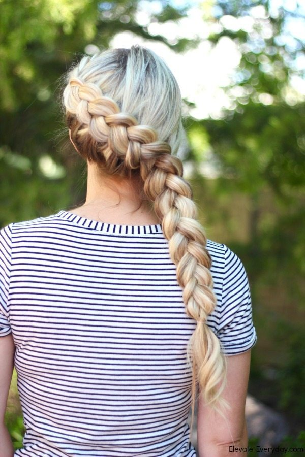 chunky dutch braid