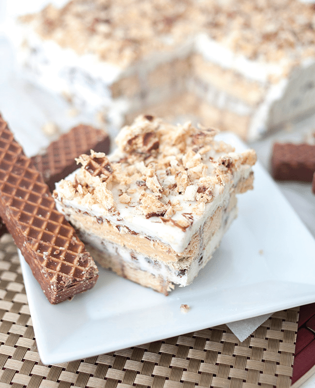 Nutty Bar Ice Cream Cake Recipe