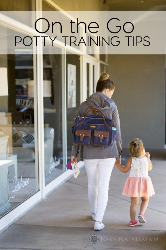 On the Go Potty Training Tips from Summer of Elevate Everyday for thirtyhandmadedays.com