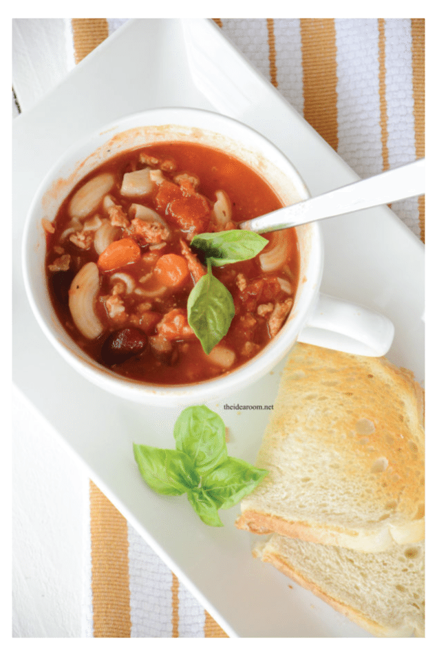 Pasta E Fagioli Soup from the Idea Room