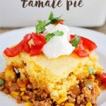 5 Ingredient Tamale Pie - easy, yummy dinner that the whole family will love!