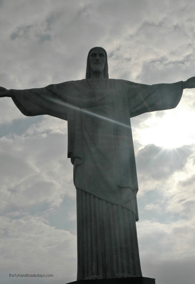 Christ the Redeemer in Rio, Brazil