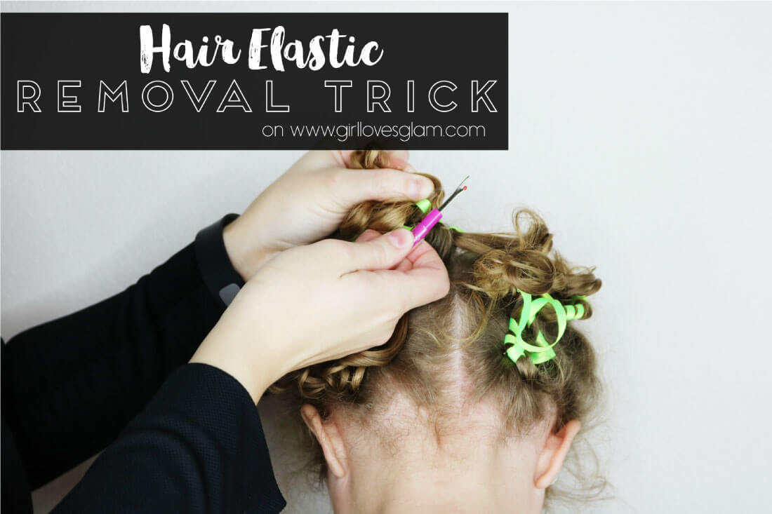 Easy Hair Elastic Removal Trick