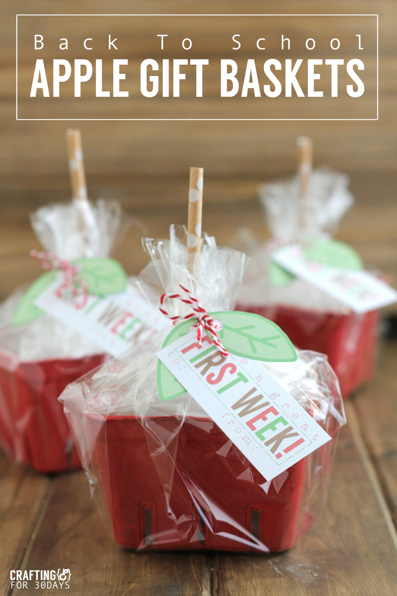 Mother S Day Menu Ideas: Adorable Back To School Apple Gift Basket