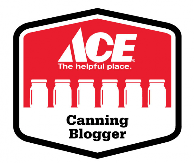 Ace canning blogger