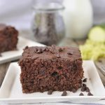 Double Chocolate Zucchini Cake - nobody will even know this dessert is healthy if you don't tell them what's in it! From Your Homebased Mom via www.thirtyhandmadedays.com