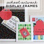 School Artwork Display Frames
