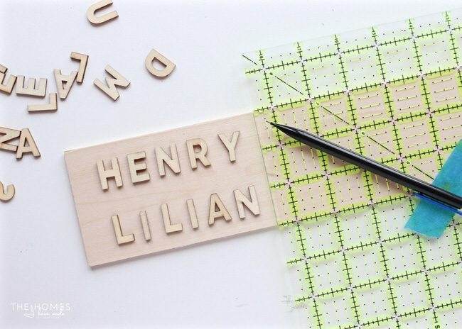 These wooden name keychains are an easy craft project and the perfect back-to-school gift for the whole class!