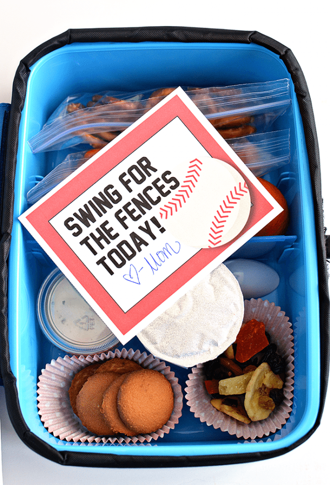 Lunch box ideas your kids will love! In partnership with Arctic Zone. Includes free printable lunchbox notes from thirtyhandmadedays.com
