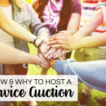 How and Why to Host a Service Auction