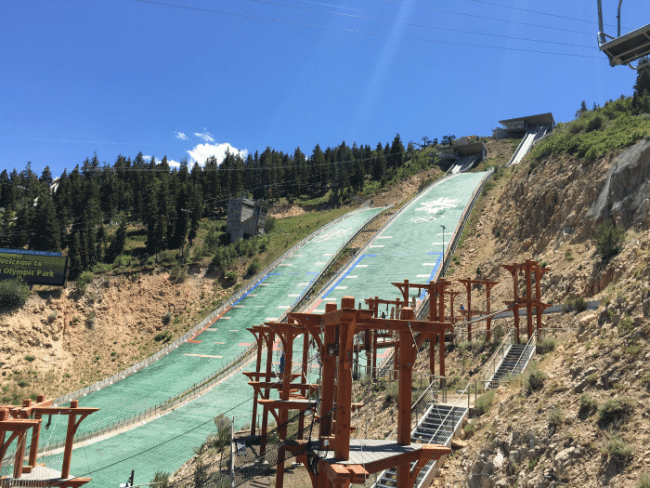 Must do things in Park City, Utah- Spend the day at Olympic Park
