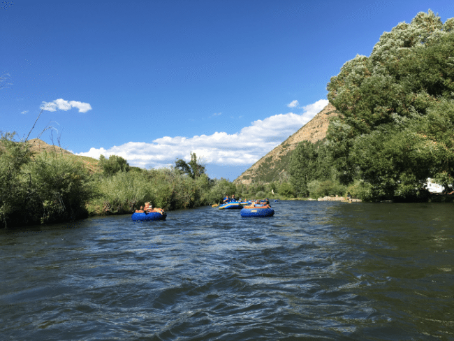 Must do things in Park City, Utah: Tubing down the Provo River