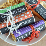 Printable Halloween Bar Wrappers