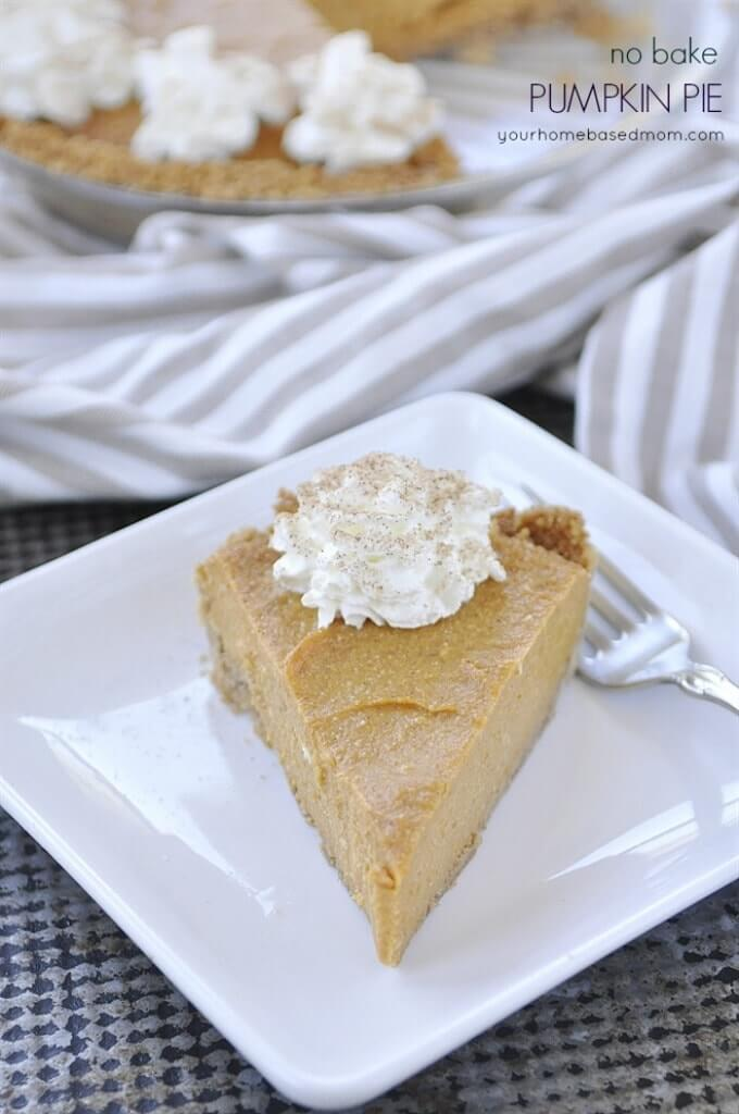 If you love pumpkin pie but don't want to put in all the work, this is the pumpkin pie recipe for you!