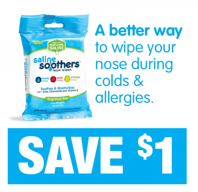 Saline Soothers Coupon