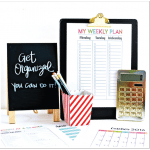 Get Organized Budget Binder + Planning Printables