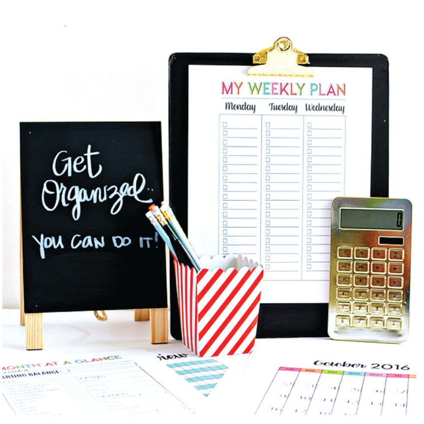 Image result for get organized and plan