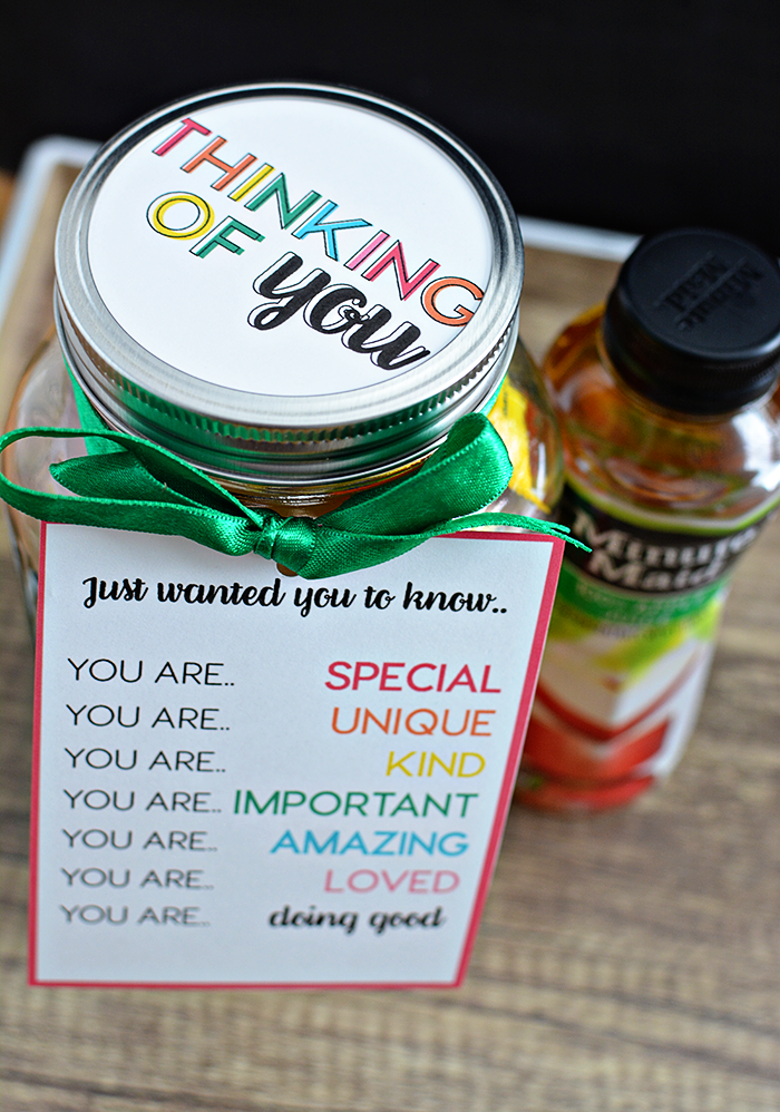 Mason Jar Gifts With Printables Thirty Handmade Days