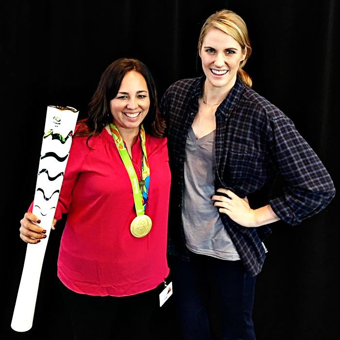 Minute Maid event at Coca Cola Headquarters to celebrate doing good with Missy Franklin