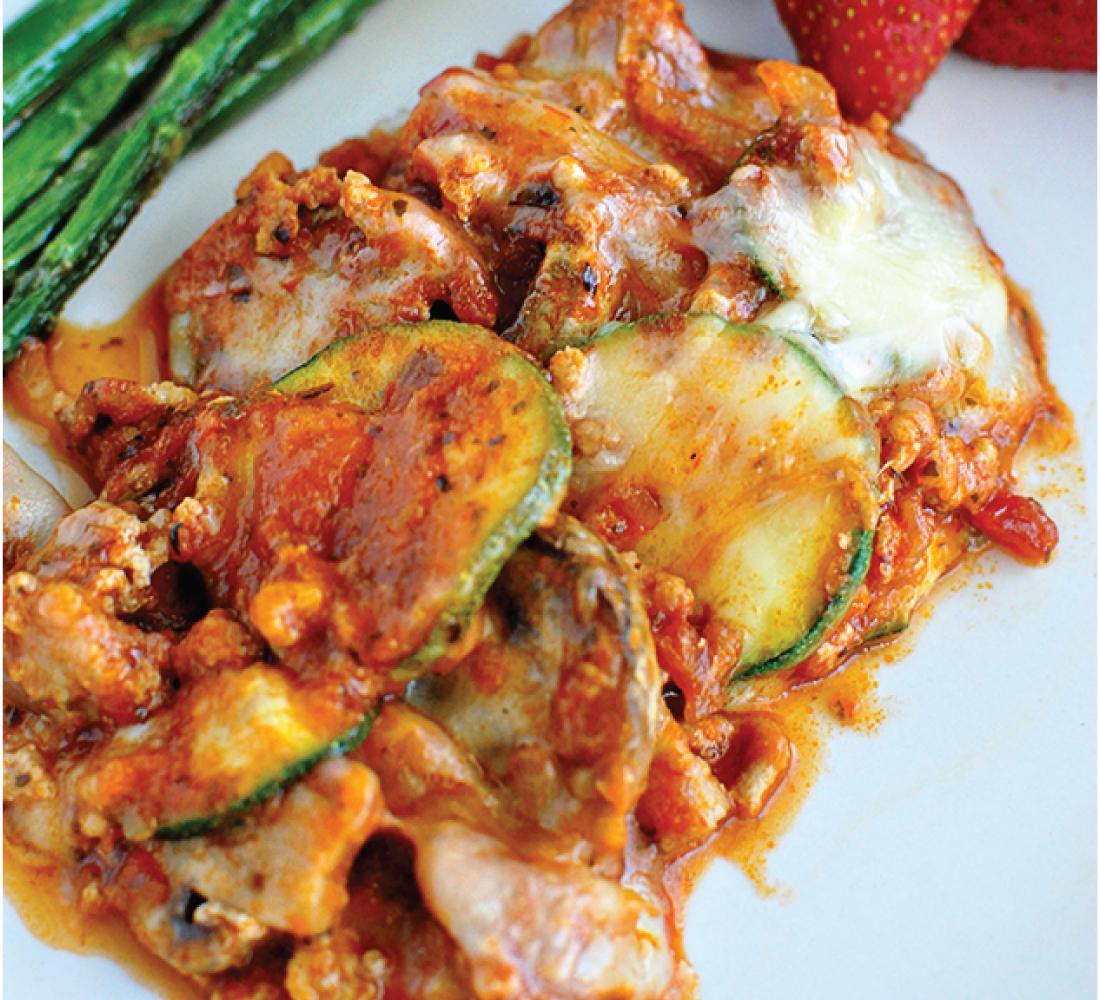 Healthy Recipes - super delicious main dish, Zucchini Lasagna from www.thirtyhandmadedays.com